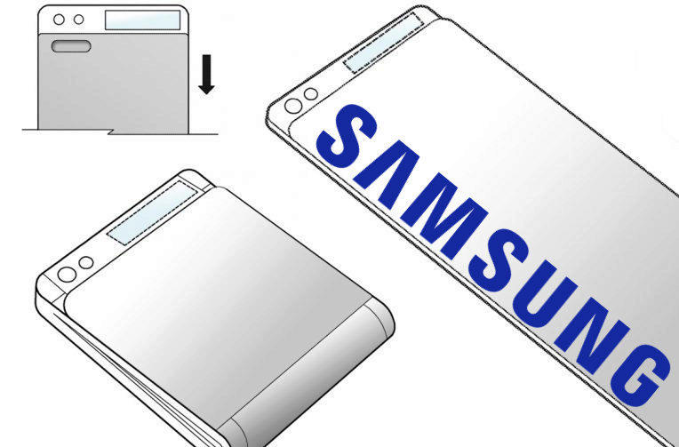 samsung patent zajimave zarizeni ohebny telefon