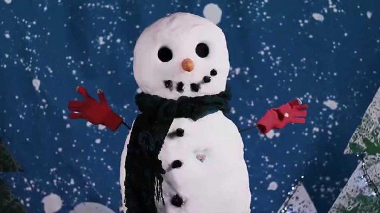 Samsung S5 Snowman