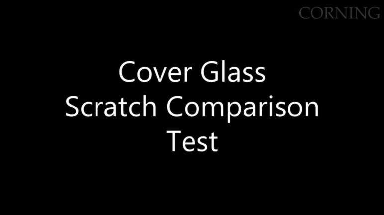 Scratch Comparison: Alternative Aluminosilicate Glasses and Corning Gorilla Glass 3