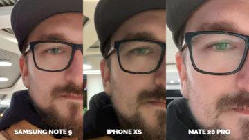 selfie fotografie umele osvetleni apple iphone xs vs huawei mate 20 pro vs samsung galaxy note 9 (25)