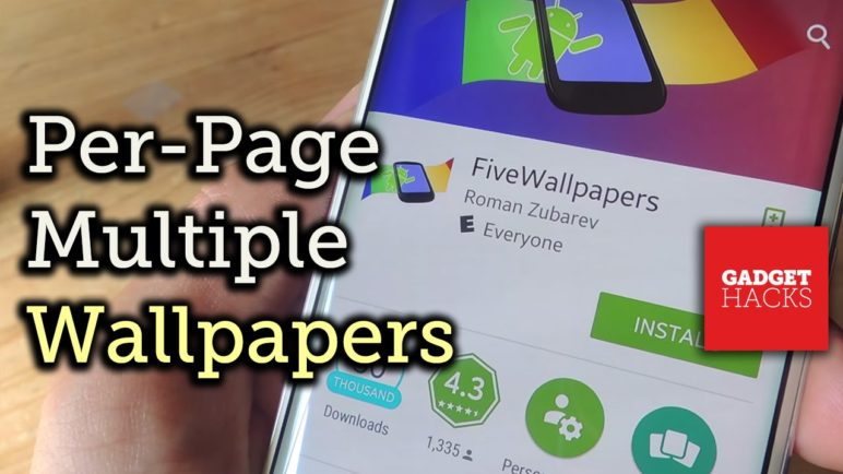 Set Different Wallpapers for Your Android Home Screen Pages [How-To]