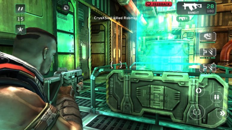 Shadowgun Deadzone on Galaxy Note 2 + PS3 Controller = EPIC
