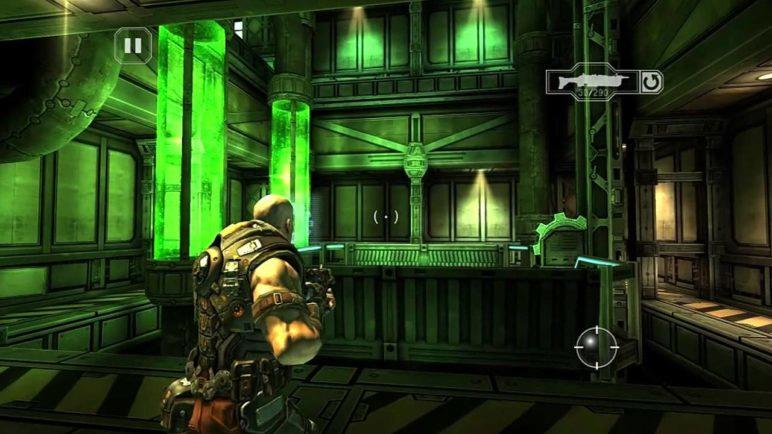 SHADOWGUN Gameplay E3 2011 [ iPhone, iPad, Android, Tegra ]