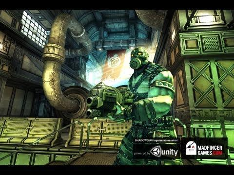 SHADOWGUN Gameplay Preview