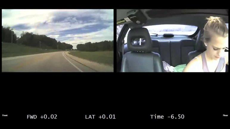 Shocking dashcam videos of teen drivers not paying attention