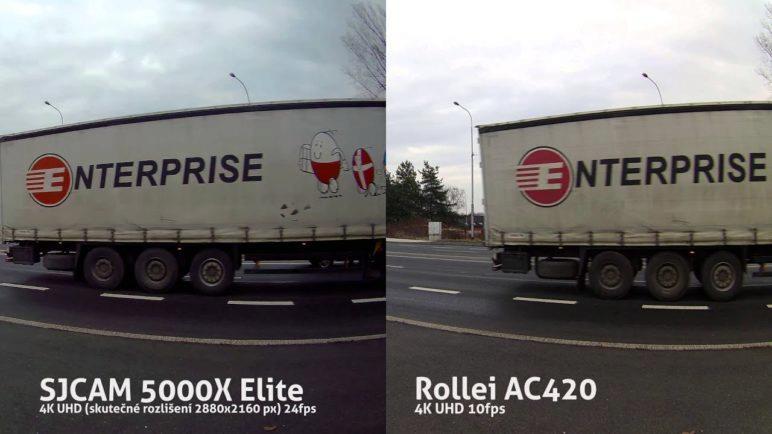 SJCAM 5000X Elite vs Rollei AC420 4K