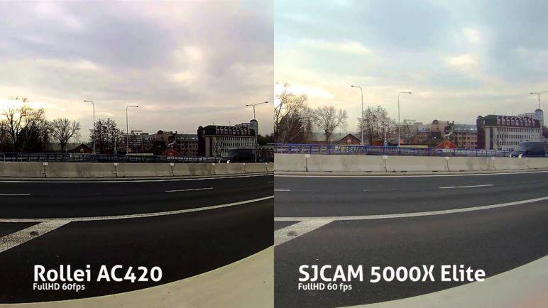SJCAM 5000X Elite vs Rollei AC420 FullHD 60 fps