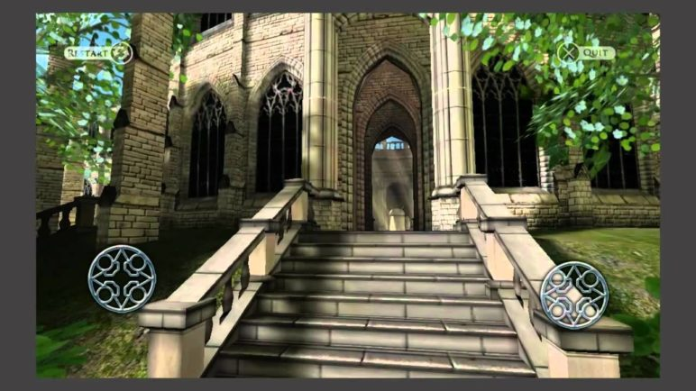 Sky Castle 3D Graphics Demo for Android