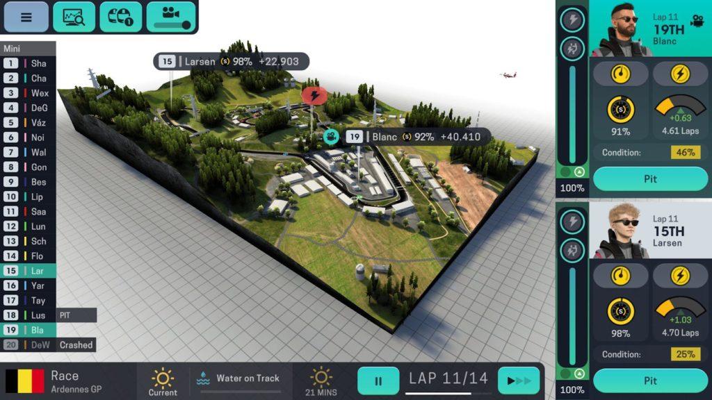 Slevy Motorsport Manager Mobile 3
