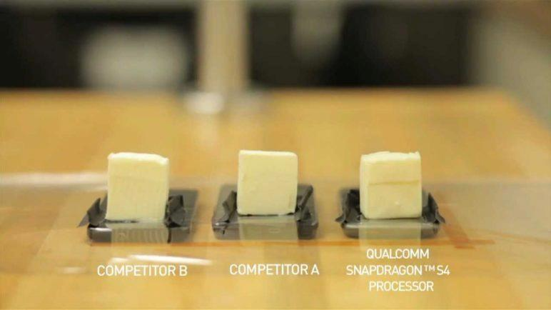 Snapdragon S4 Thermal Comparison and Butter Benchmark