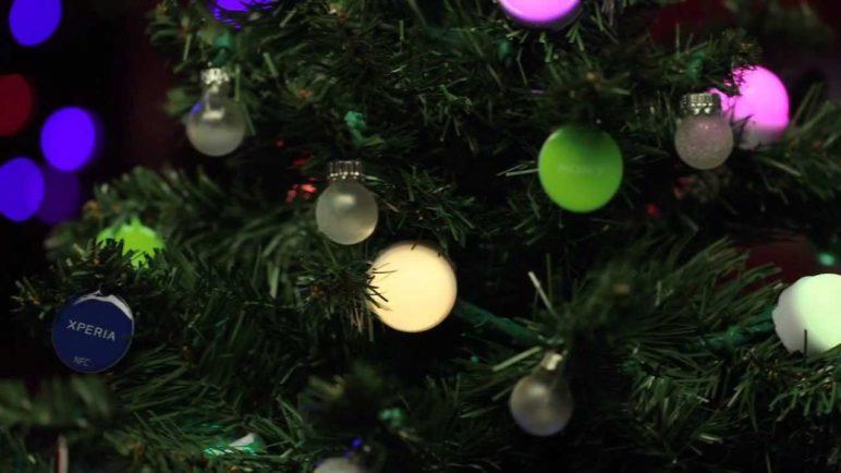 Sony NFC Christmas Tree Giveaway