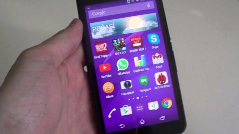 Sony Xperia E4g - první pohled