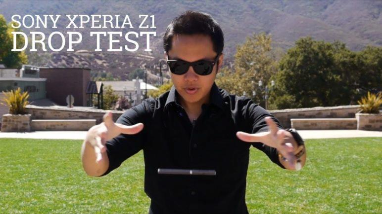 Sony Xperia Z1 Drop Test!