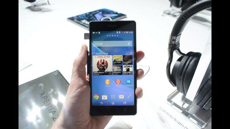 Sony Xperia Z2 (První pohled)