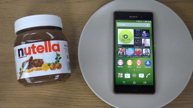 Sony Xperia Z3 Nutella - Test (4K)