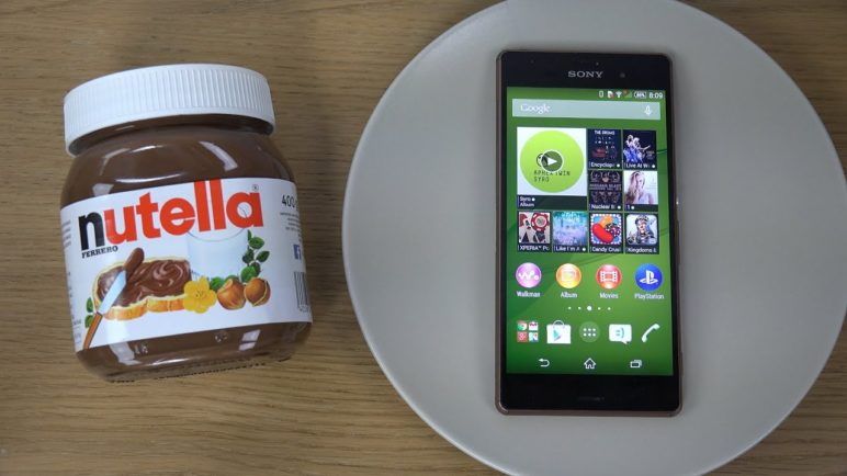 Sony Xperia Z3 Nutella - Test (4K)