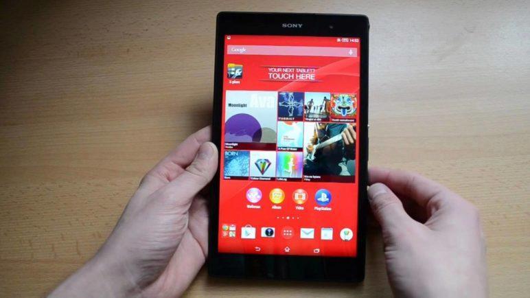 Sony Xperia Z3 Tablet Compact - první pohled