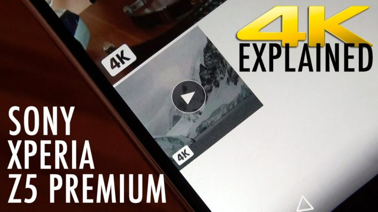 SONY Xperia Z5 Premium 4K: What It Is and What It Isn't | Pocketnow