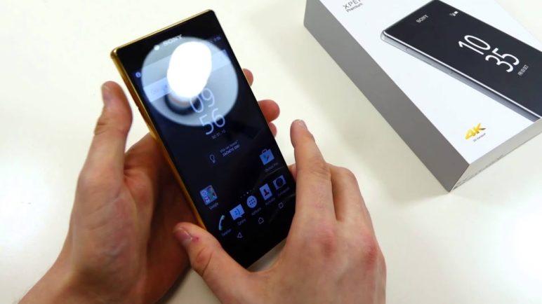Sony Xperia Z5 Premium - první pohled