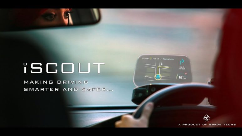 Spade Techs - iSCOUT | Making Driving Smarter and Safer