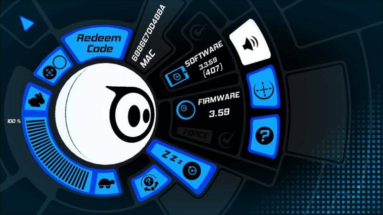 Sphero 2.0 - představení aplikace
