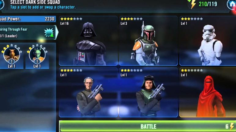 Star Wars: Galaxy of Heroes Official Announce Trailer – Google Play