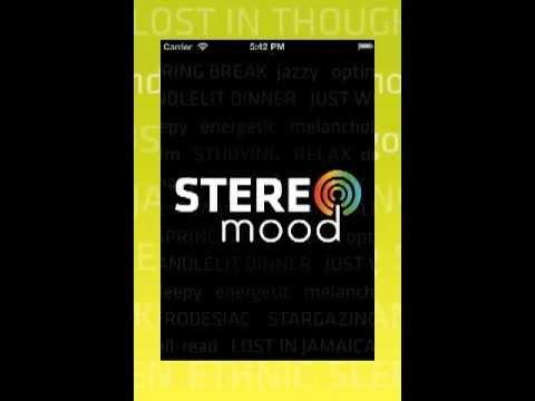stereomood mobile app