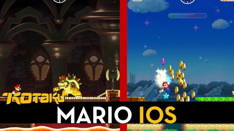 Super Mario Game Coming To iOS - Shigeru Miyamoto On Stage At Apple Event
