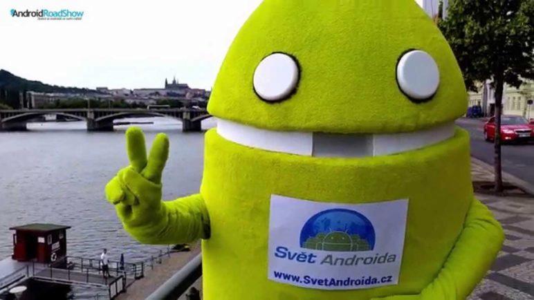 SvetAndroida.cz vás zve na Android RoadShow v Praze