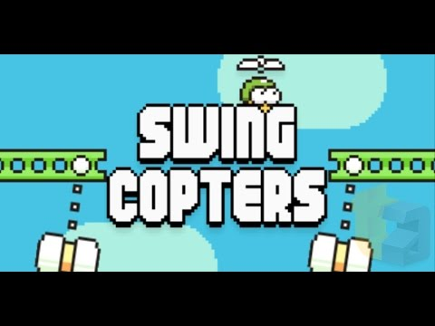 Swing Copters Gameplay Trailer by Flappy Bird Creator Dong Nguyen