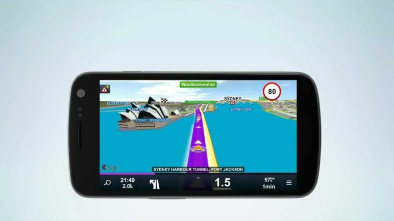 Sygic GPS Navigation for Android version 12.1