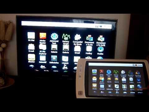 Tablet SmartQ V7 - HDMI propojení