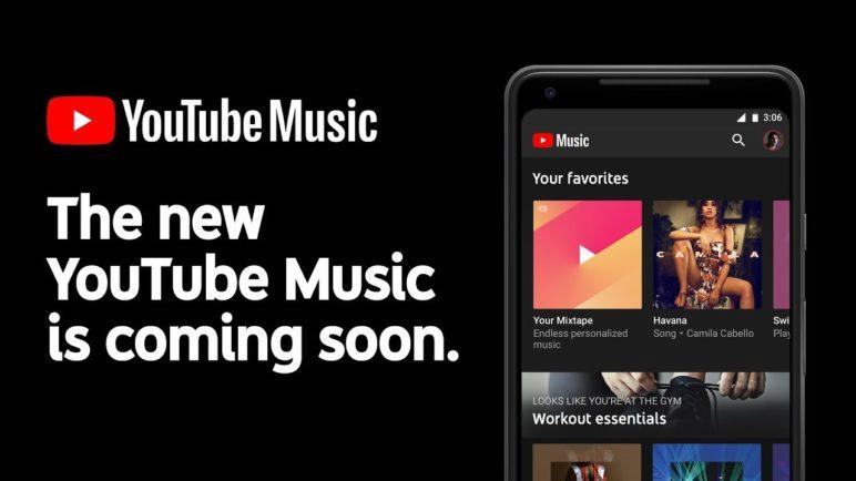 The new YouTube Music is here