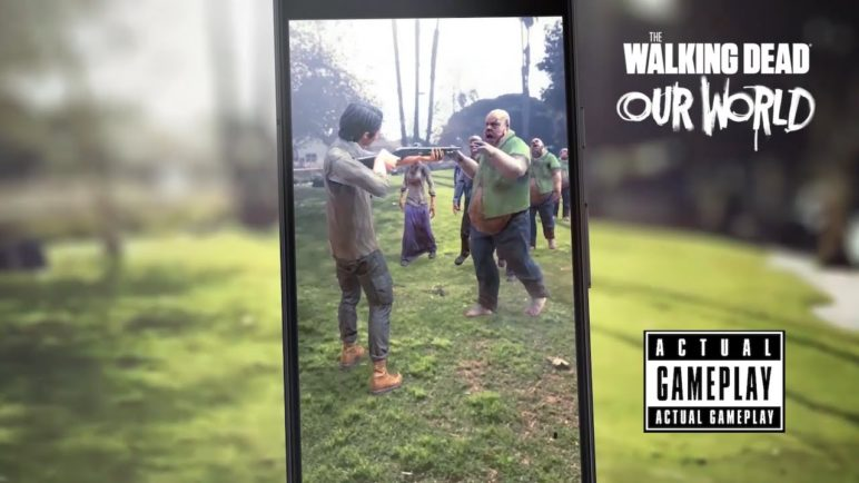 The Walking Dead: Our World Google Play Store