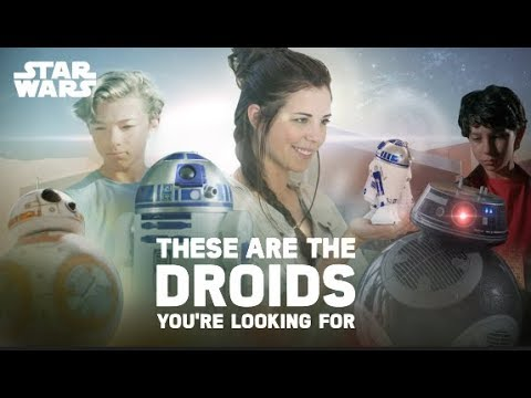 These Are The Droids You're Looking For (Star Wars BB-8, BB-9E, and R2D2 by Sphero)