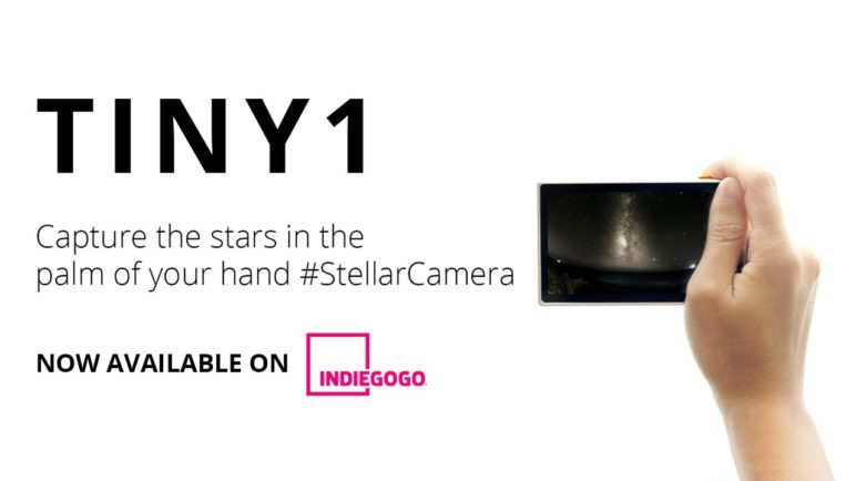 Tiny1: The world's first astrophotography camera made to be Small, Smart and Sociable