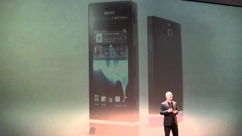 Tiskovka Sony MWC2012