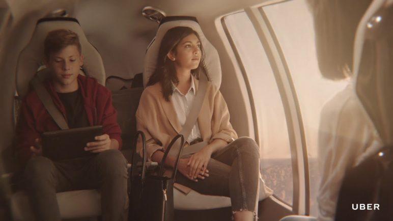 UberAir: doprava vzduchem