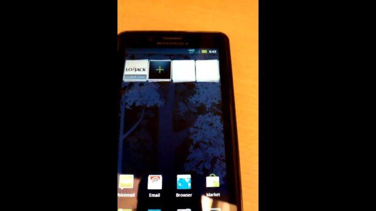 Verizon Wireless DROID Bionic 4G LTE Speed Test, W