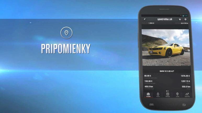 Video prehliadka aplikácie Spotreba.sk