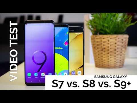 VIDEOTEST Samsung S7 vs S8 vs S9+ - SvetAndroida.cz