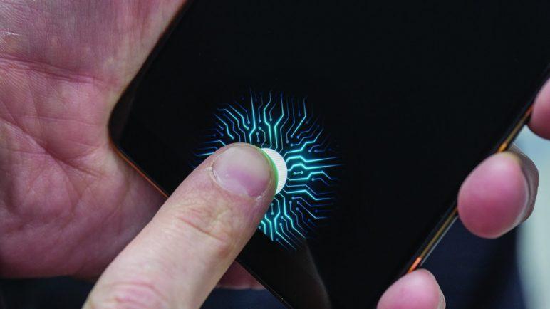 Vivo on-screen fingerprint sensor hands-on