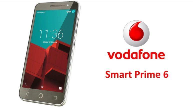 Vodafone Smart Prime 6 - první pohled