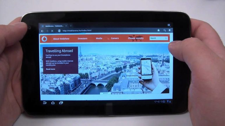 Vodafone Smart Tab 7 hands-on