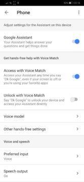 Vypnuti Google Assistant