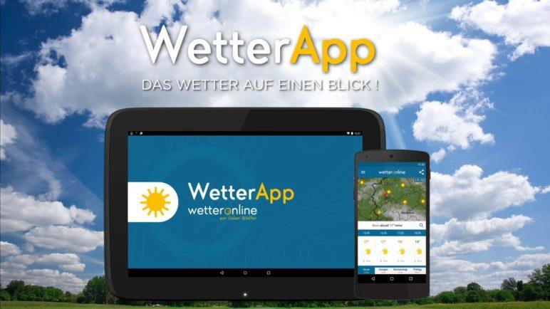 WetterOnline - die WetterApp!