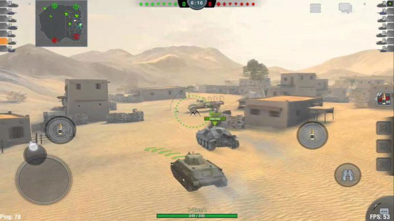 World of Tanks - gameplay video