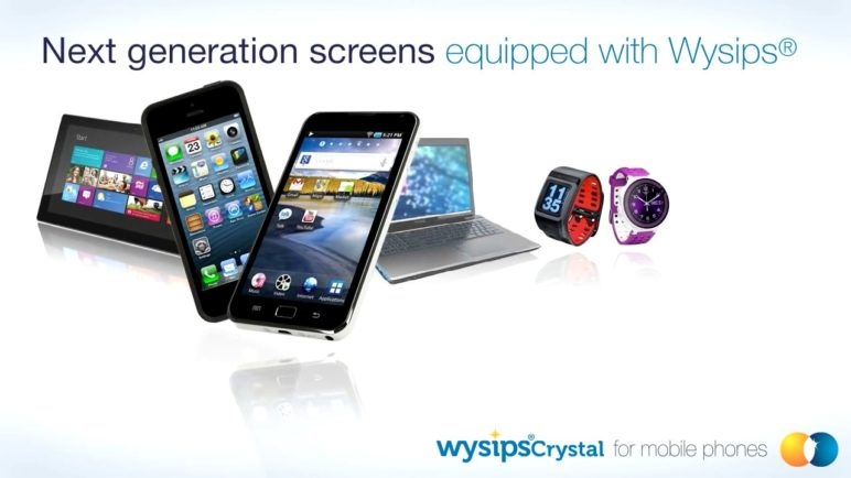 Wysips® Crystal for mobile devices by Sunpartner Technologies