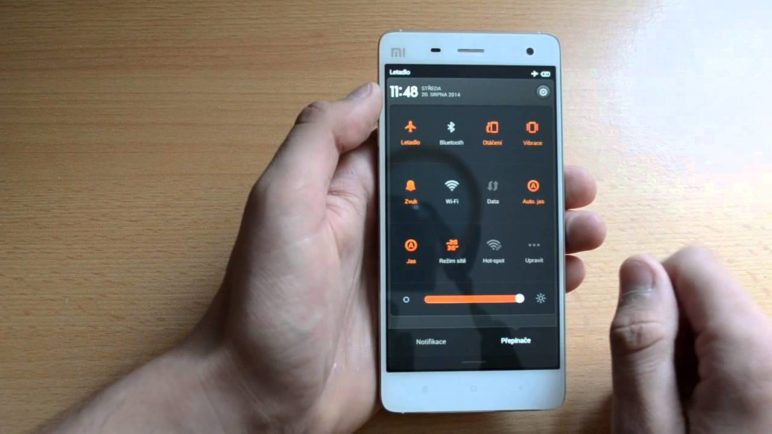 Xiaomi Mi 4 - prostředí MIUI