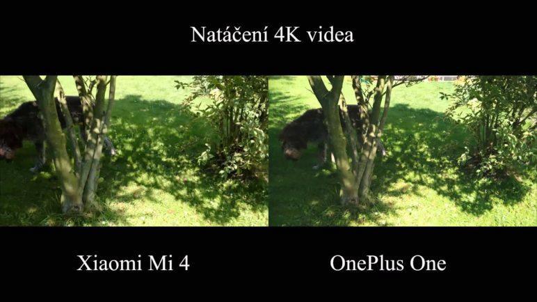 Xiaomi Mi 4 vs. OnePlus One - test fotoaparátu